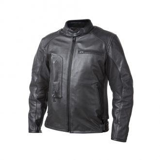 Airbagová bunda Helite Roadster černá kožená