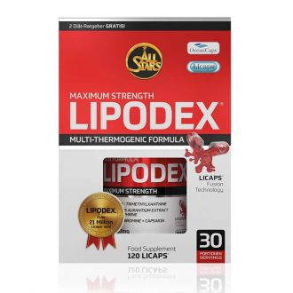 ALL STARS LIPODEX 120 kps + PILL BOX