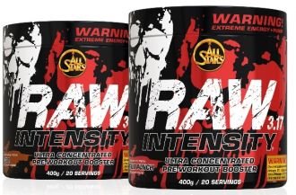 ALL STARS RAW INTENSITY 400g fruit punch