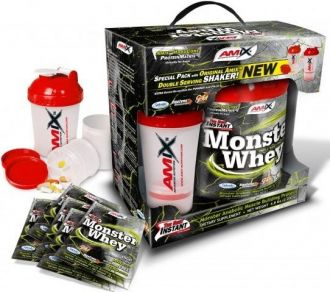 AMIX Anabolic Monster Whey 2200 g + ŠEJKR ZDARMA