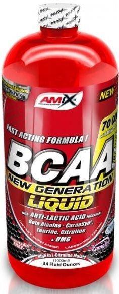 Výsledek obrázku pro Amix BCAA New Generation Liquid 1000 ml