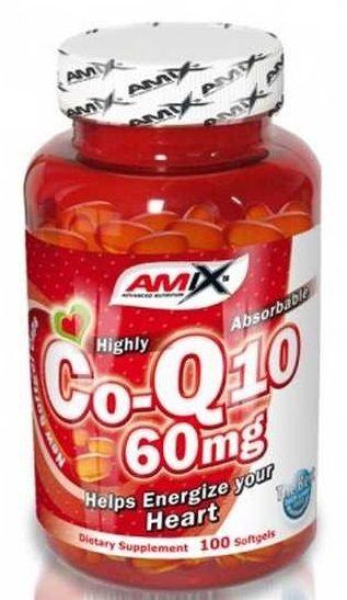 AMIX Coenzyme Q10 60 mg 100 kps