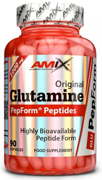AMIX Glutamine PepForm Peptides 90 kaps