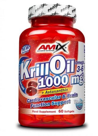 AMIX Krill Oil 1000 60 kps.