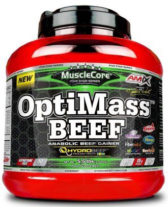 AMIX MuscleCore OptiMass Beef Gainer 2500g