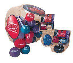 Antistresový míček naplněný gelem,box 40 ks