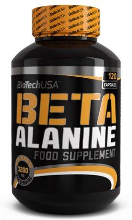 Biotech BETA ALANINE 120 kapslí