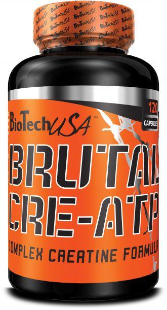 Biotech Brutal CRE-ATP 120 kapslí