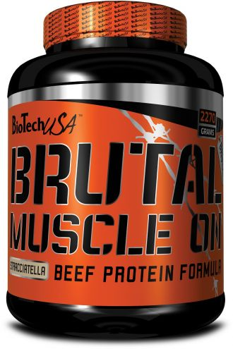 BioTech Brutal MuscleON protein beef formula 2270g