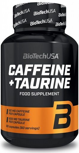 BioTech CAFFEINE + TAURINE 60cps