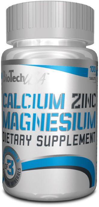 BioTech Calcium-Zinc-Magnesium 100 tbl