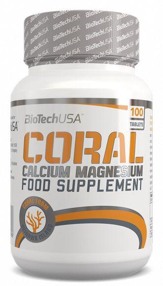 BioTech Coral Calcium-Magnesium 100 tbl