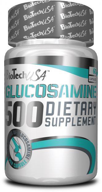 BioTech GLUCOSAMINE 500 60 kapslí