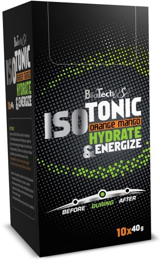 BioTech ISOTONIC 10 x 40 g