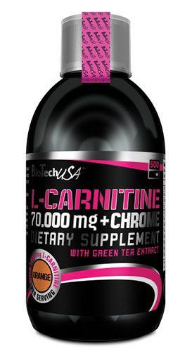 BioTech L-CARNITINE 70.000 + CHROME 500 ml