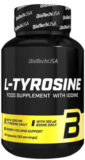 BioTech L-TYROSINE 100 kapslí