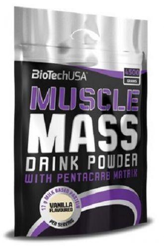 BioTech MUSCLE MASS 4500g