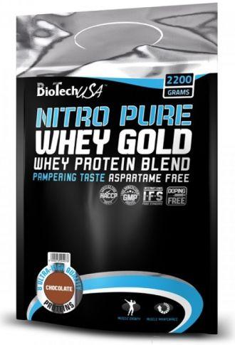 BioTech NITRO PURE WHEY GOLD 2200g