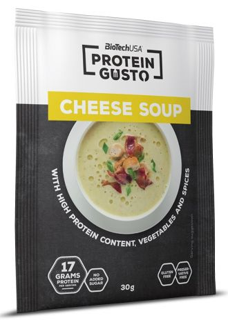 BioTech Protein Gusto Cheese Soup 30g GLUTEN FREE