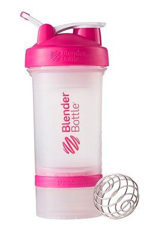 Blender Bottle PINK CLEAR 600ml
