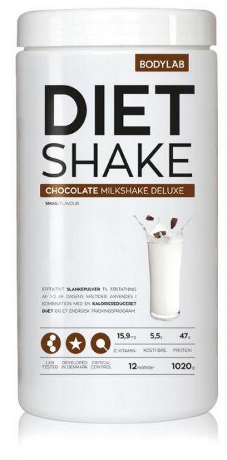 Bodylab Diet Shake 1020g čokoláda