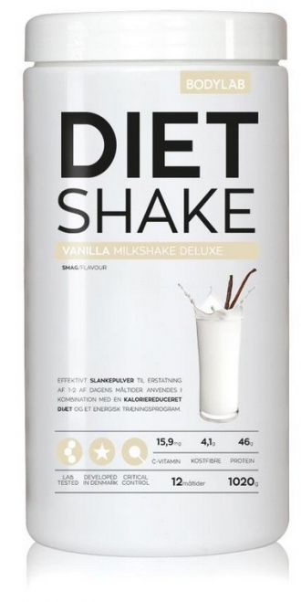 Bodylab Diet Shake 1020g vanilka