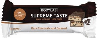 Bodylab Supreme Taste Protein Bar 65g hořká čokoláda karamel