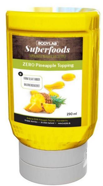 Bodylab Zero Topping Syrup 290ml ananas