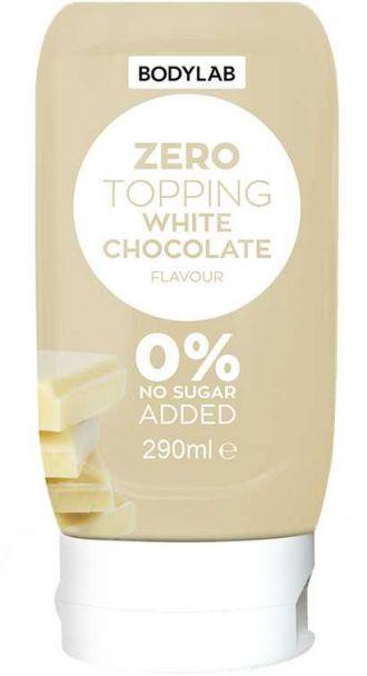 Bodylab Zero Topping Syrup 290ml bílá čokoláda