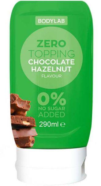Bodylab Zero Topping Syrup 290ml čokoláda lískový ořech