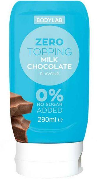 Bodylab Zero Topping Syrup 290ml mléčná čokoláda