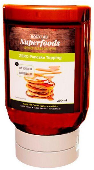 Bodylab Zero Topping Syrup 290ml pancake