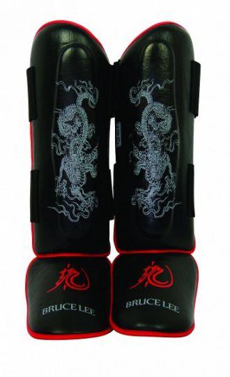 Chránič holení Bruce Lee Dragon Deluxe Gel Shinguards, vel. S/M