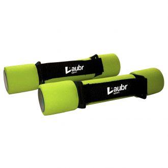 Činky na aerobic Laubr 2x1kg