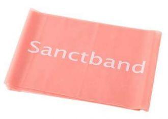 Cvičební guma Sanctband 2 m slabá