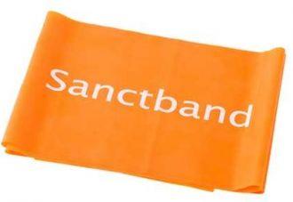 Cvičební guma Sanctband 2 m středně silná
