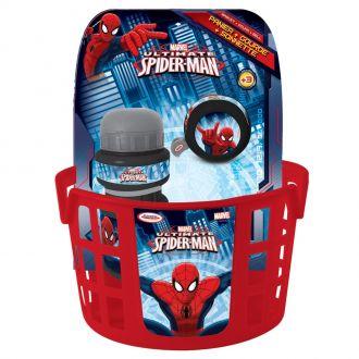 Cyklistick� sada Spiderman (ko��k, zvonek, l�hev)