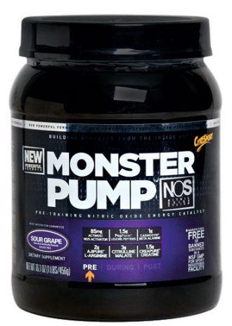 Cytosport Monster Pump NOS + originál triko Cytosport Muscle milk