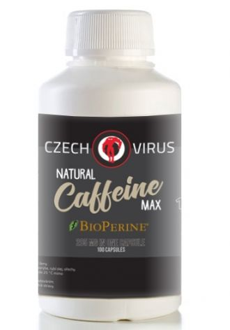 Czech Virus Caffeine Max 200 120 cps