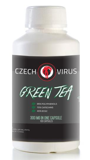 Czech Virus Green Tea 100 cps