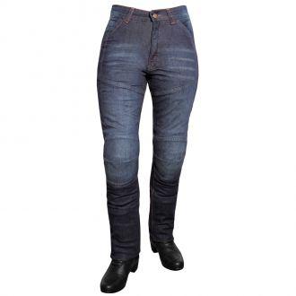 Dámské jeansové moto kalhoty ROLEFF Kevlar Lady