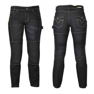 D�msk� jeansy na motorku W-TEC Theo