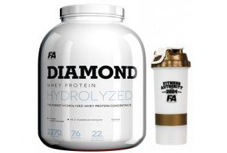 FA DIAMOND HYDROLYSED WHEY PROTEIN 2,27kg + TRIKO