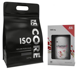 FA ISO CORE 2,2kg + Vitamin C 1000mg 100tbl