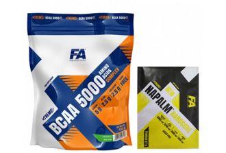FA Xtreme BCAA 5000 / 400g + TESTER