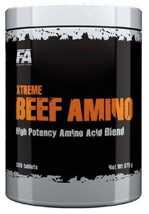 FA Xtreme Beef Amino 600 + Napalm Pre-workout 4 d�vky ZDARMA