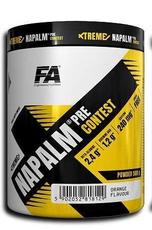 FA Xtreme Napalm Pre-Contest 500g + sample Whey Core