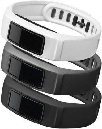 Garmin Řemínky náhradní pro vivofit2 black, slate, white 120 - 175mm