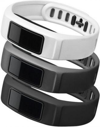Garmin Řemínky náhradní pro vivofit2 black, slate, white 152 - 210mm