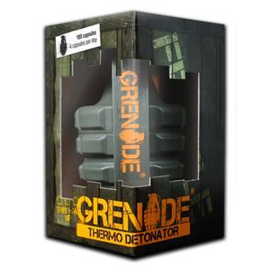 GRENADE THERMO DETONATOR FAT BURNER 100 cps + 4 cps Grenade Black Ops